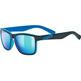 UVEX LGL 39 Lifestyle Glasses black matt blue/mirror blue
